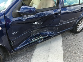 This is what a totaled VW looks like