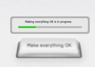 Making everything in progress button
